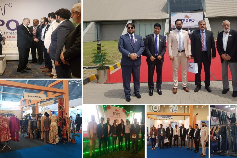 Visit to Texpo Pakistan Lahore with delegation