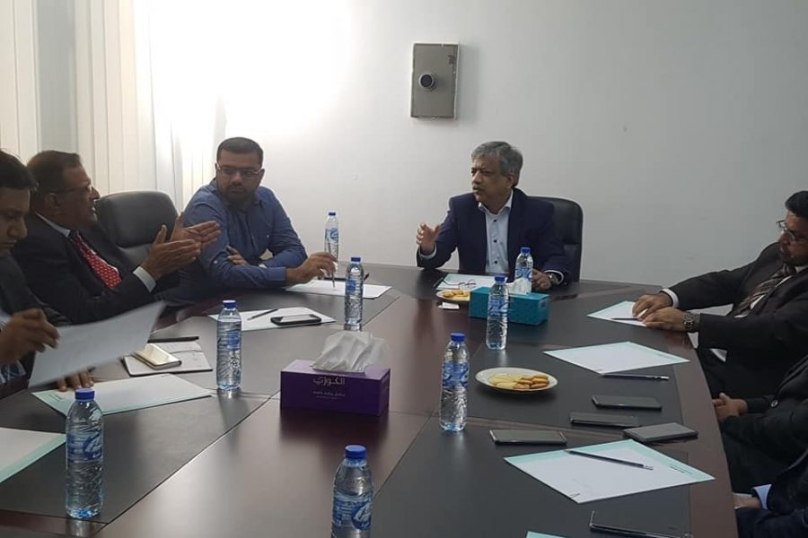 Meeting with Mr. Muhammad Sualeh Ahmed Faruqui, Secretary TDAP for briefing on the progress for Pakistan Pavilion in Expo 2020