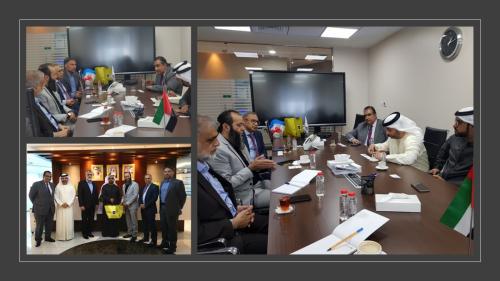 Meeting with Dubai Economic Department officials